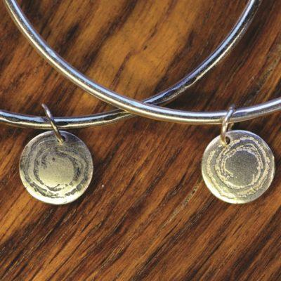 Barclodiad y Gawres range from Silverfish Designs