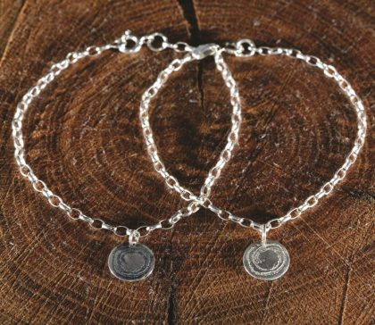 Barclodiad y Gawres Bracelet from Silverfish Design