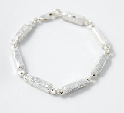 Chunky bracelet from Silverfish Designs