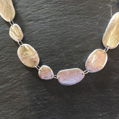 Pebble necklace by Silverfish Designs