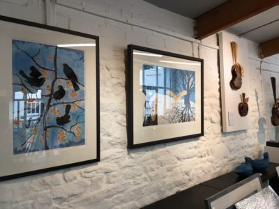 Inside Blue Ginger Gallery